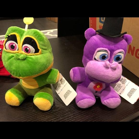 Ffnaf mr hippo and happy frog plush rare 40 00 new